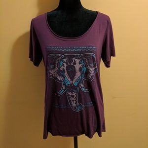 Fifth Sun Elephant Top - Sz L